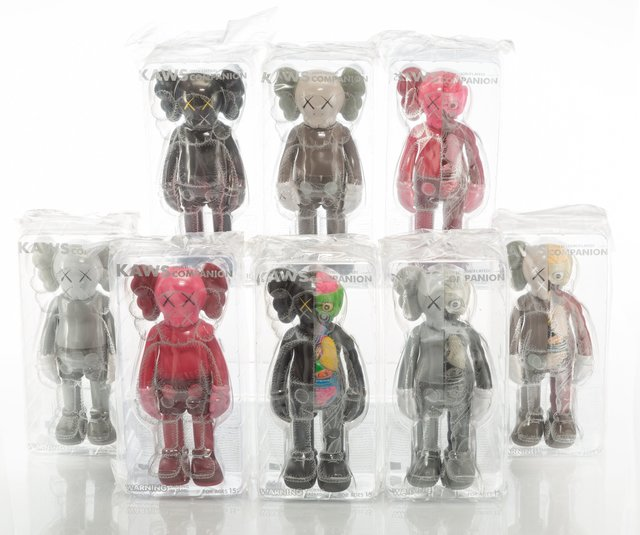 KAWS, 'Companion, set of eight,', 2016, Heritage Auctions