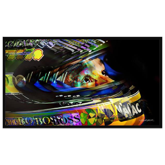 , 'Ayrton Senna | Upwards Glance | Formula 1 | Automotive | Car,' 2019, Whyte Fine Art