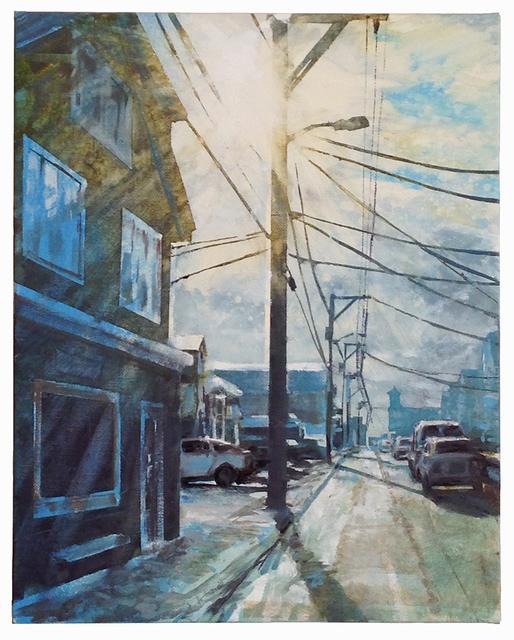 , 'Commercial Street study,' 2017, Albert Merola Gallery