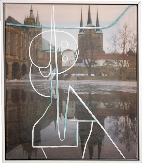 , 'Other Angel from the Cross (based on Paul Klee),' 2016, Galerie Supper