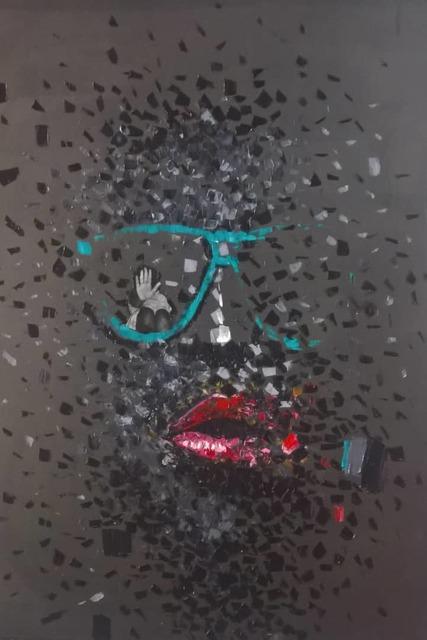 , 'Facing Reality,' 2018, AfricArt Gallery Hong Kong