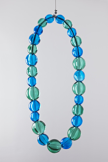 , 'Sans titre (collier aquamarine et émeraude),' 2013, Kukje Gallery