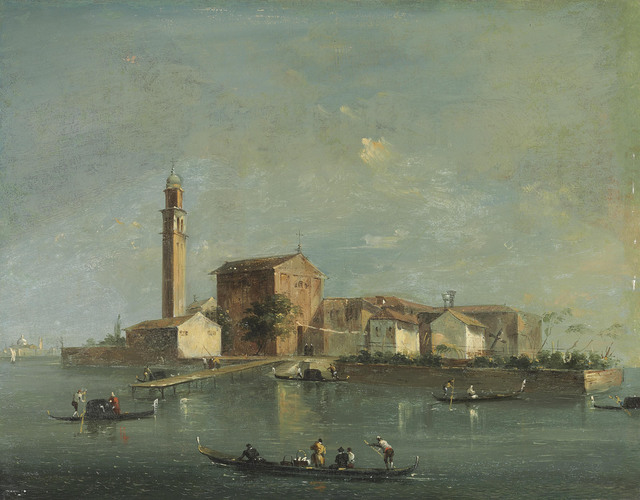 , 'A view of the Island of San Giorgio in Alga, Venice,' , Christie's Old Masters