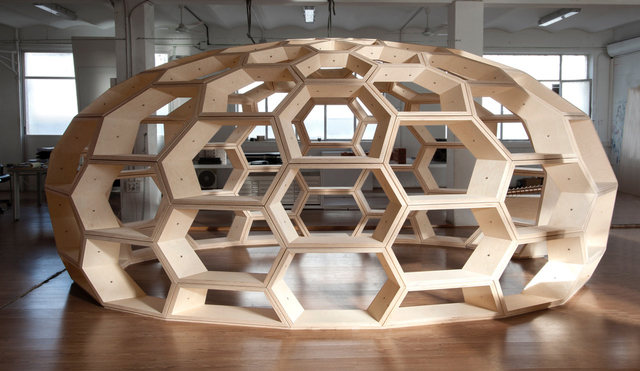 , 'Domo Hexagonal,' 2016, Galerie Peter Kilchmann