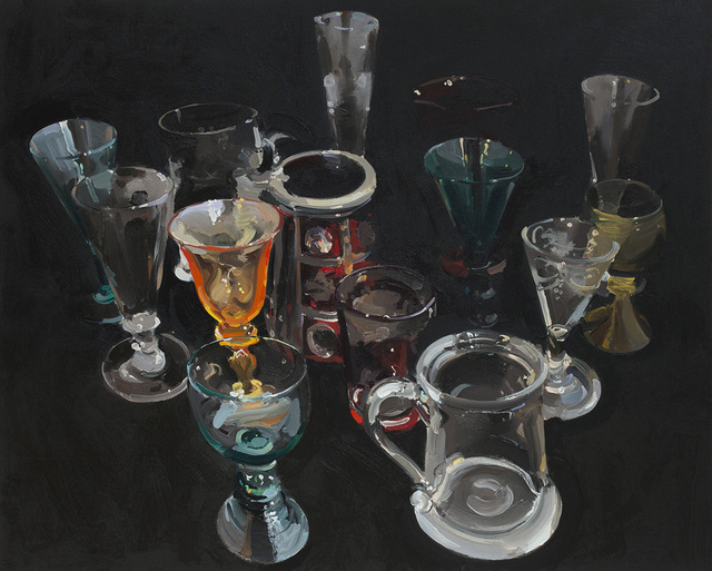 , 'Fourteen Glasses,' 2018, Absolute Art Gallery