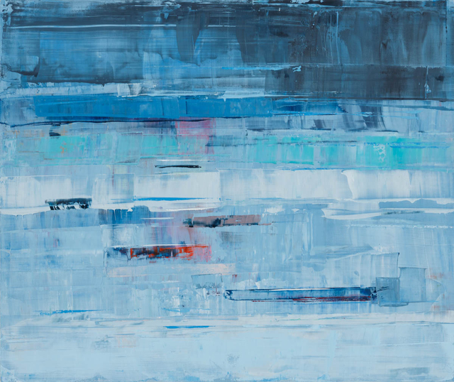 , 'Dusty Blue,' 2016, Sue Greenwood Fine Art