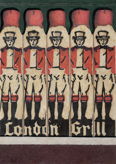 , 'London Grill,' 2018, Sims Reed Gallery