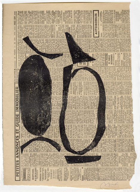 Joan Miró, 'Untitled I', 1970, Goldmark Gallery