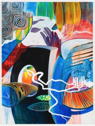 , 'Drying my Canoe,' 2018, Walter Wickiser Gallery
