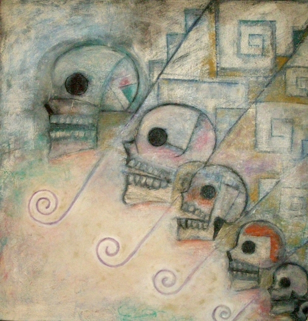 Luis Zarate, 'Sin Titulo (Grecas Muertes)', 1997, Galería Quetzalli