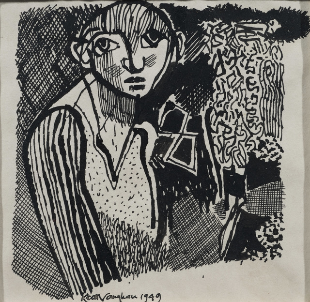 , 'Study of a Boy,' 1949, Osborne Samuel