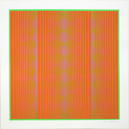 , 'Floating in Orange ,' 1970, David Richard Gallery