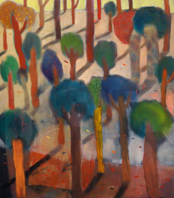 , 'Empty Forrest II,' 2015, Galerie Mikael Andersen