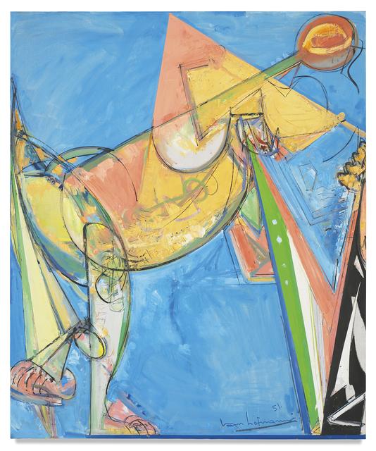 Hans Hofmann, ' Perpetuita', 1951, Helwaser Gallery