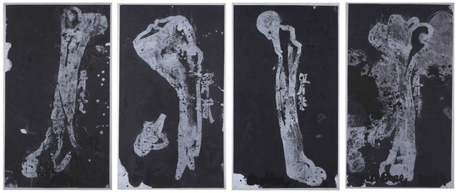 , 'Allah, Jesus, Buddha and your bones,' 2002, Jeanne Bucher Jaeger