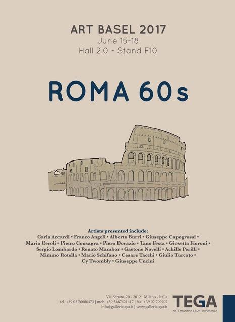 , 'Roma 60s,' 1960-1969, Galleria Tega