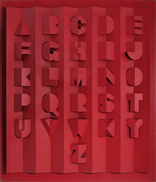 , 'Metal Alphabet,' 2016, Candida Stevens Gallery