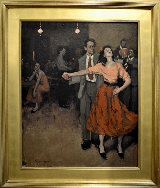 , 'Dance Scene ,' 1999, Off The Wall Gallery