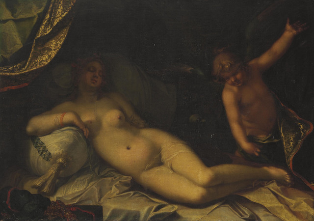 Abraham Bloemaert, 'A mythological scene, perhaps Venus and Cupid', Painting, Oil on canvas, Christie's Old Masters