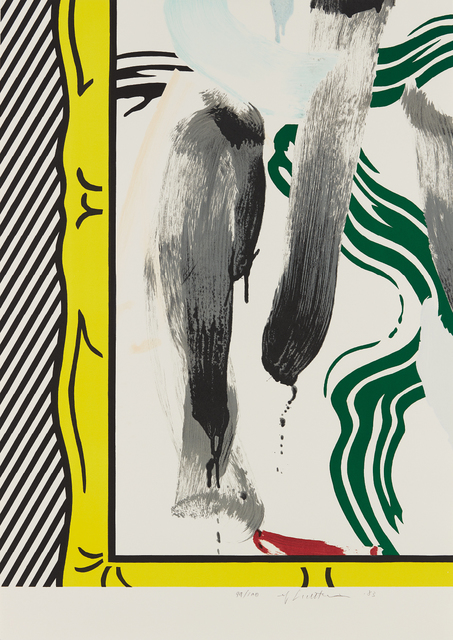 Roy Lichtenstein, 'Against Apartheid', 1983, Phillips