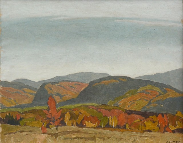 , 'Autumn Hills - Near Dwight (Barking Dog Hill),' 1976, Oeno Gallery