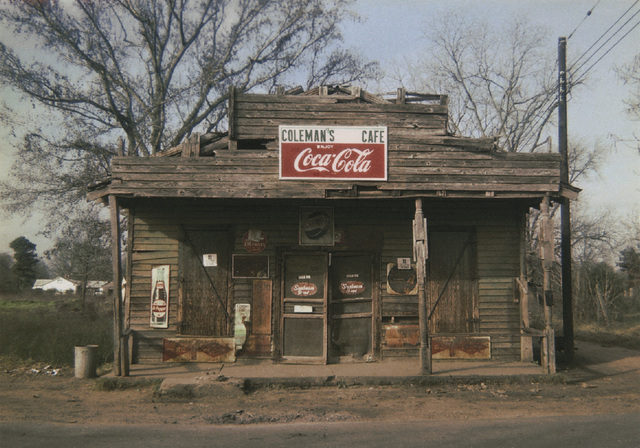 William Christenberry, 'Coleman's Cafe, Greensboro, Alabama', 1971, Pace/MacGill Gallery