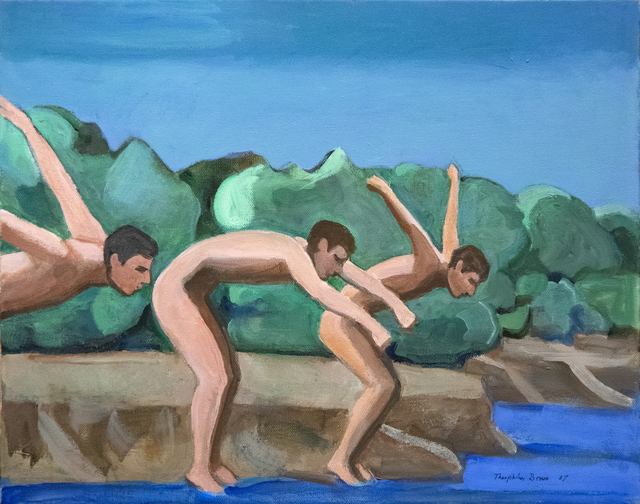 William Theophilus Brown, 'Untitled (Three Divers)', 2007, Heather James Fine Art