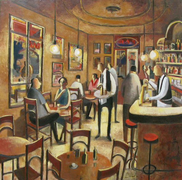 , 'Bar de Nuit,' 2009, GALERIA JORDI BARNADAS