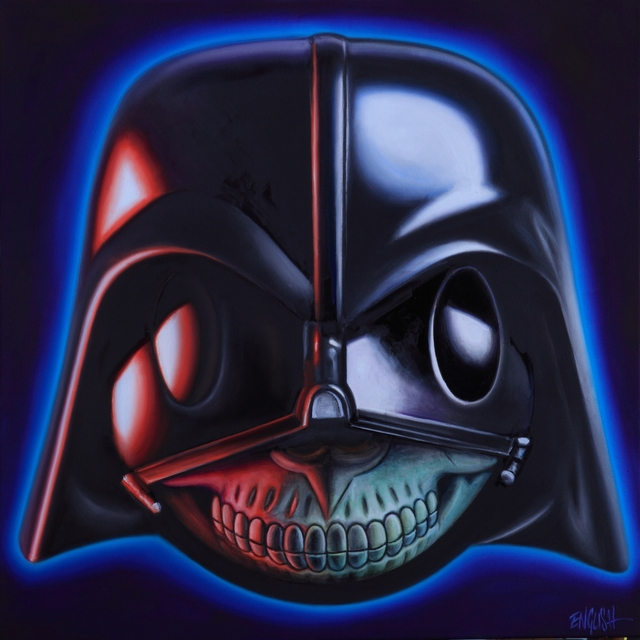 , 'Darth Vader Grin,' 2015, Joseph Gross Gallery