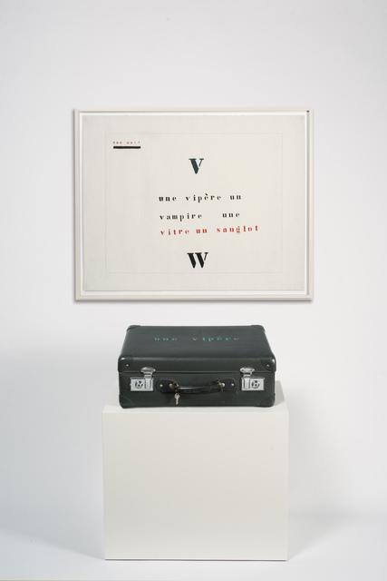 , 'Valise Vipère,' 1974, Marian Goodman Gallery