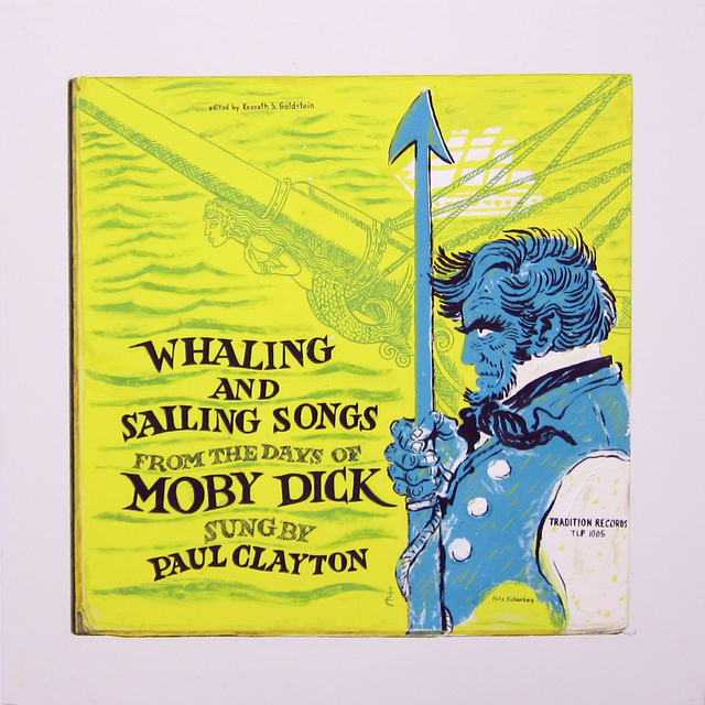 , 'Whaling and Sailing Songs,' 2018, Albert Merola Gallery