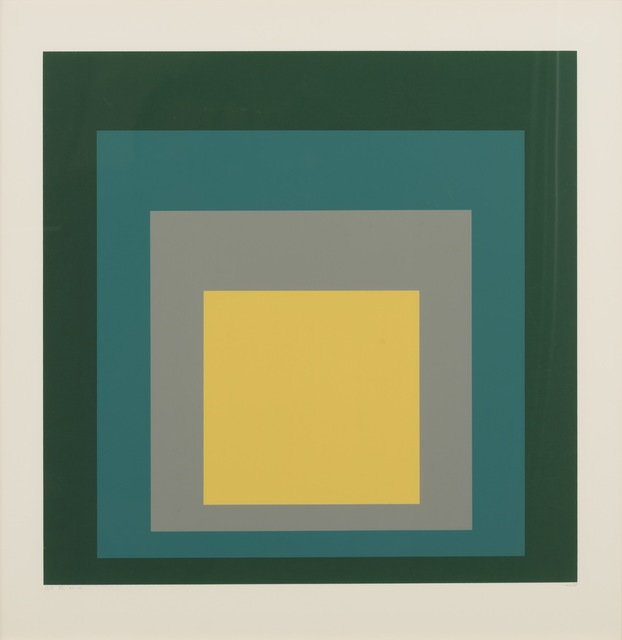, 'Homage to the Square: SP - VI ,' 1967, Galerie d'Orsay
