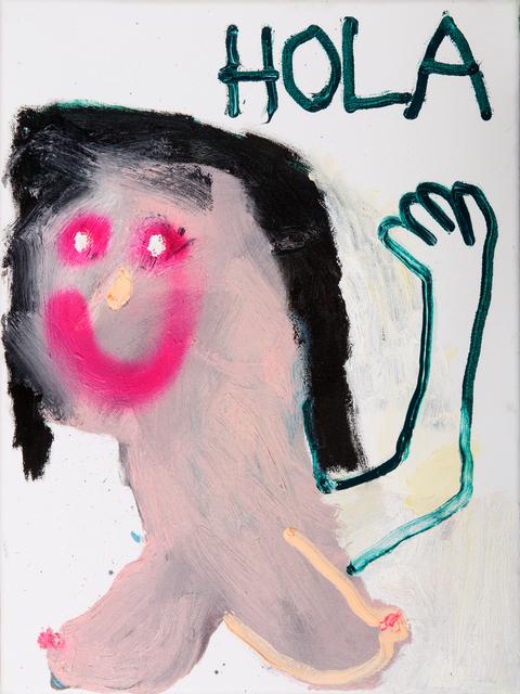 , 'Hola Queridos,' 2018, Freight + Volume