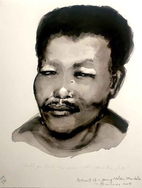 , 'Portrait of a young Nelson Mandela,' 2008, Absolut Art Gallery