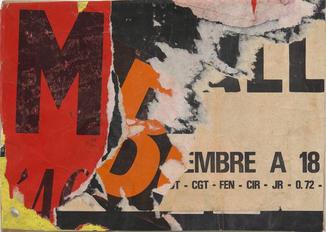 , 'Rue de Ménilmontant,' juin 1971, Modernism Inc.