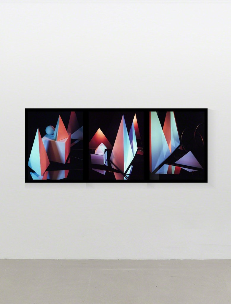 "installation view ""Triptych I, 1983"""