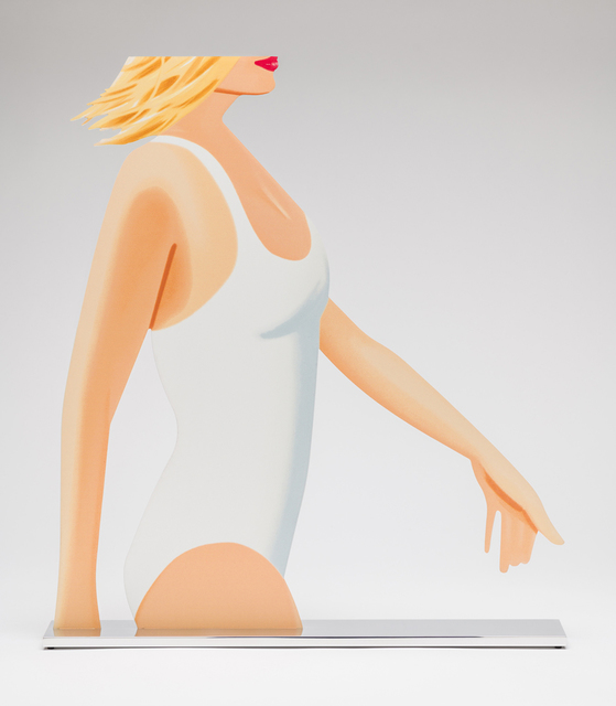 Alex Katz, 'Coca-Cola Girl (cutout)', 2019, New Art Editions