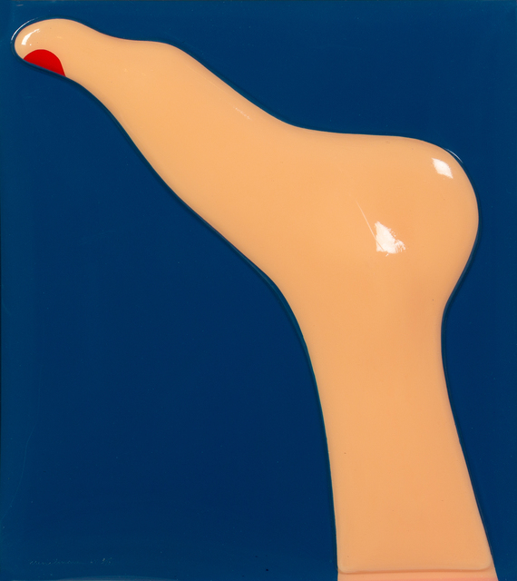 Tom Wesselmann, 'Seascape (Foot)', 1967, Print, Screen-printed vacuum formed plexiglas, Hindman