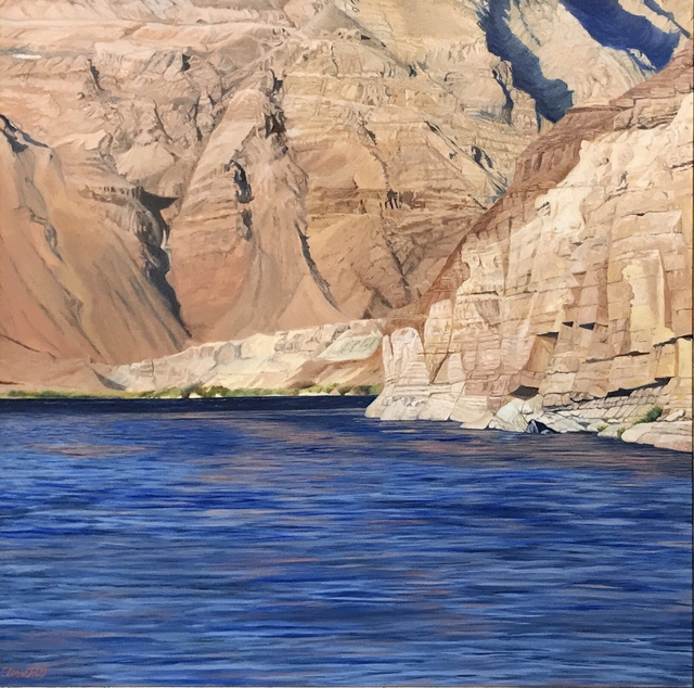 , 'Looking Across the Colorado River to Marble Canyon Walls,' ca. 2019, {9} The Gallery