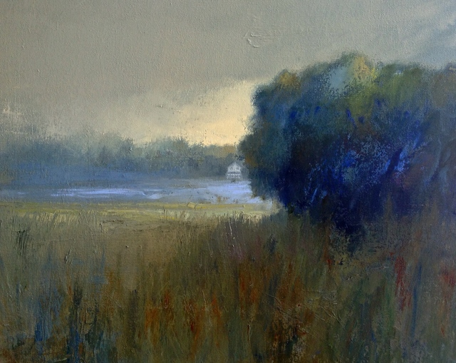 , 'White House across the Marsh,' 2016, Bowersock Gallery