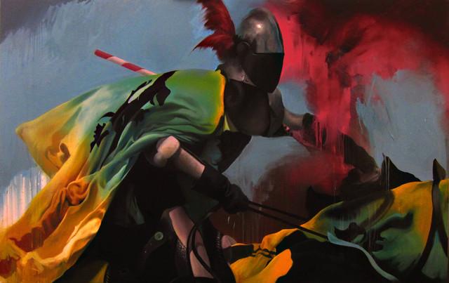 , 'The Pride and the Spear,' 2015, Victor Lope Arte Contemporaneo