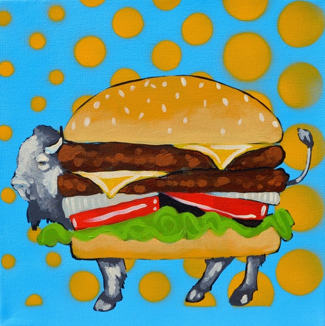, 'BUFFALO BURGER STUDY PHASE 2,' 2016, Tansey Contemporary