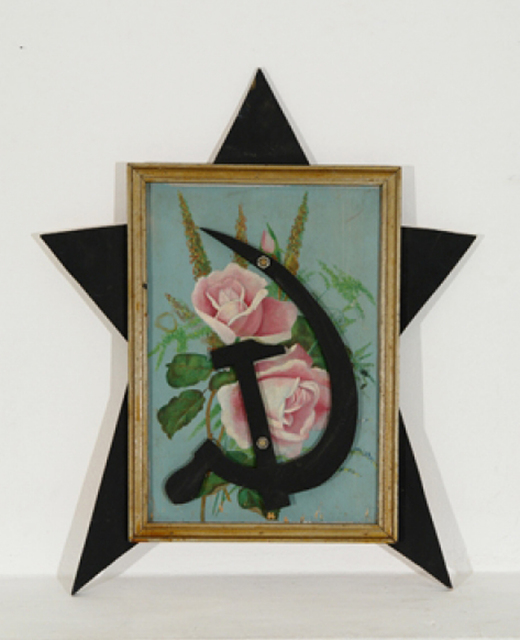 , 'The object with a beautiful picture,' 1998, Gallery Fine Art Moscow