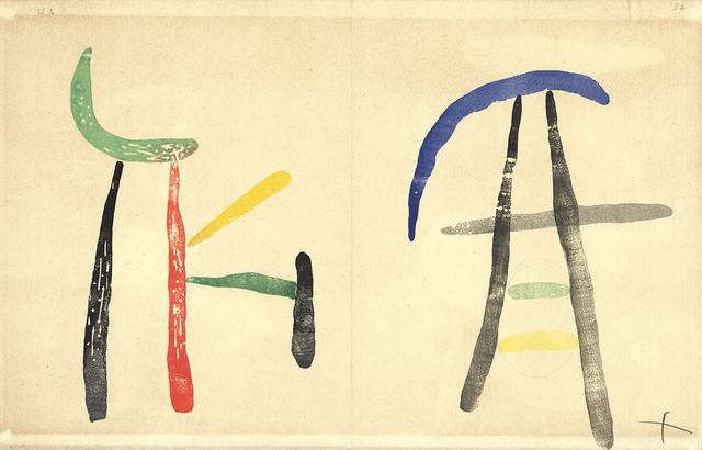 Joan Miró, 'Gravure sur Bois 5', ArtWise