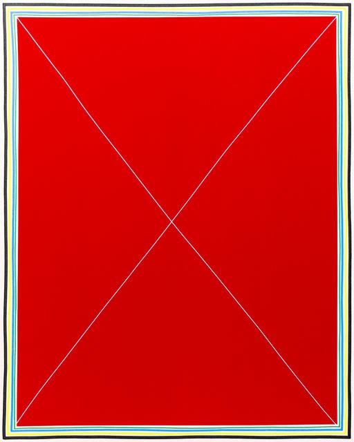 , 'Simple Ex (XL Red),' 2015, Newzones