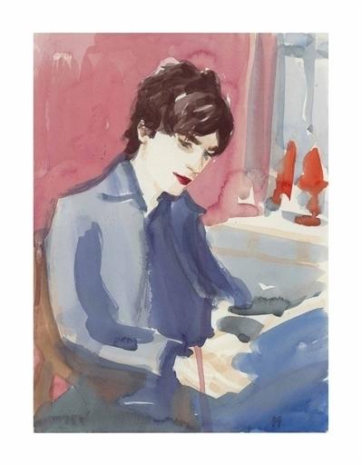 Elizabeth Peyton, 'Matthew in the Studio', Christie's