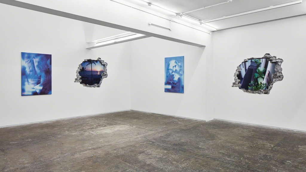 Ry David Bradley, Unvalley Valley, Installation View Photographed by Tom Carter