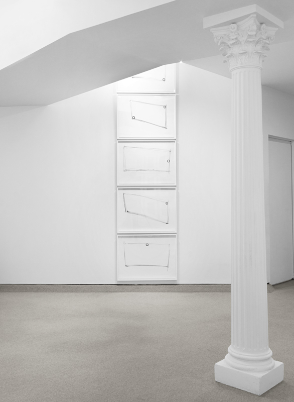 "Dan Flavin ""For one walled circular fluorescent light (to Heiner Friedrich)"" 1974"