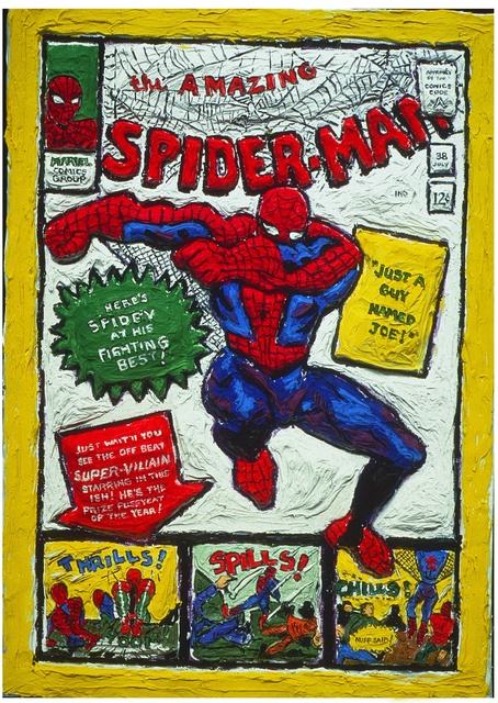 , 'Spiderman,' , Madelyn Jordon Fine Art