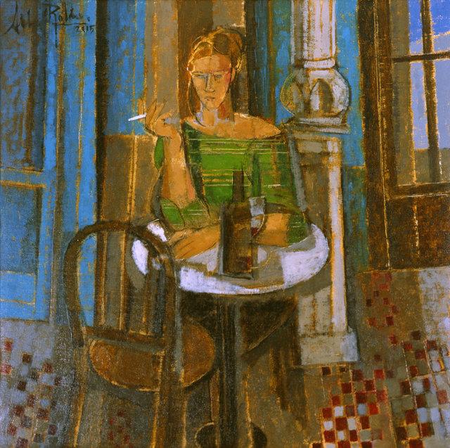 , 'Mujer en Verde,' 2015, Albemarle Gallery   Pontone Gallery